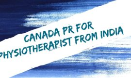 Canada PR for Physiotherapist from India (3142)