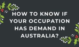 How To Know If Your Occupation Has Demand In Australia?