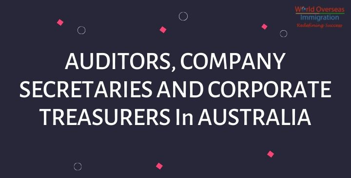 Jobs  for Auditors, Company Secretaries, and Corporate Treasurers in Australia
