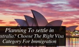 Planning To settle in Australia? Choose The Right Visa Category For Immigration