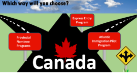 What are the easiest way to move Canada?
