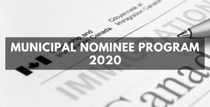 Municipal Nominee Program 2020